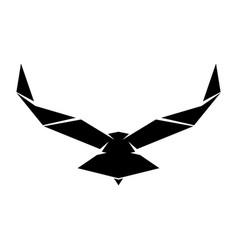 falcon vector image vector image