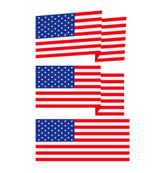 flag vector image vector image