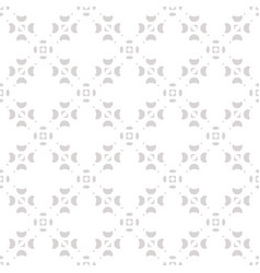 minimalist seamless pattern subtle abstract white vector image vector image