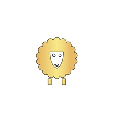 Sheep computer symbol vector
