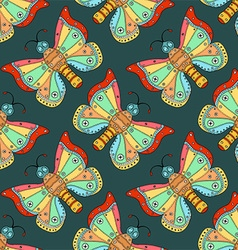 Butterfly Patterned Background vector image