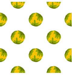 Little planet pattern seamless vector