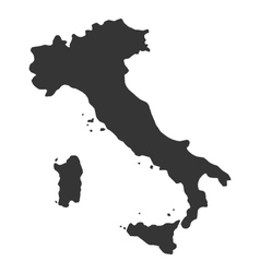 map of Italy vector image
