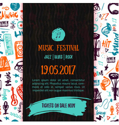 Music concert poster template can be used vector