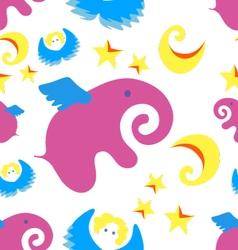 Pink-elephant vector