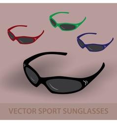 Sport sunglassess eps10 vector