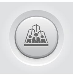 Security agency icon grey button design vector