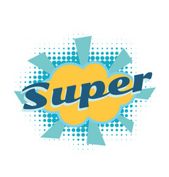Super comic word vector
