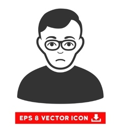 Downer eps icon vector