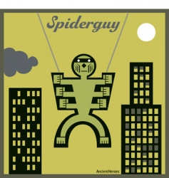 spider guy vector image