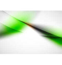 Abstract background blurred wave lines in the air vector