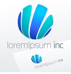 Logotype for Media Fashion Cosmetics vector image