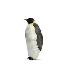 Penguin abstract vector image vector image