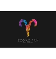 Zodiac ram logo ram symbol logo creative ram vector