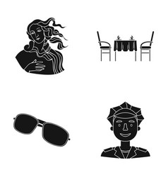 Profession recreation museum and other web icon vector