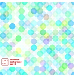 Abstract seamless dots pattern vector
