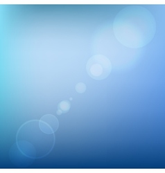 Blue Soft Colored Abstract Background with Lens vector image vector image