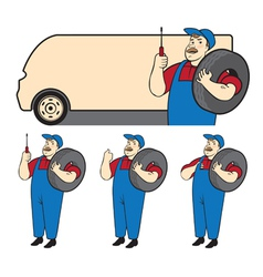 Mechanic vector