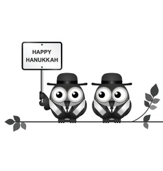 Jewish Hanukkah Festival vector image
