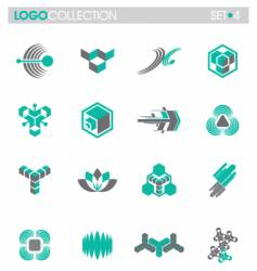 Logo collection vector