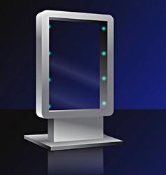bilbord vector image vector image