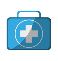 first aid kit icon image vector image vector image