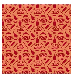 grill pattern vector image vector image