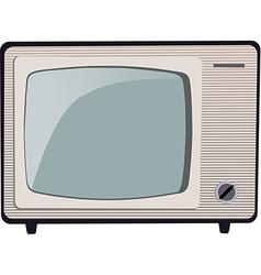 Old TV MG 0618 v vector image vector image