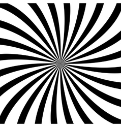 Swirl background rotating spiral vector