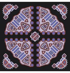 Tribal ethnic ornament vector