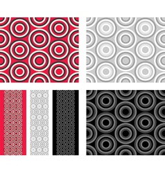 Fashion abstract geometric pattern vector