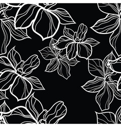 seamless flower 1 vector image