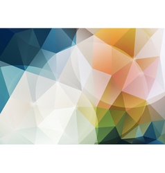 Abstract poligonal background vector image vector image