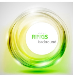 Abstract rings background vector image vector image
