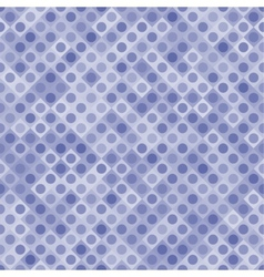 Blue Transparent Colored Squares and Circles vector image