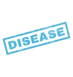 Disease rubber stamp vector