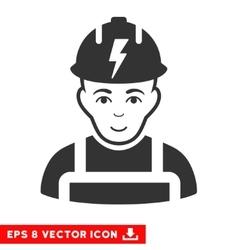 Electrician eps icon vector