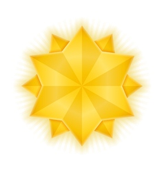 Golden Stars vector image