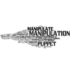Manipulate word cloud concept vector