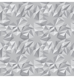 Crumpled paper stars pattern vector