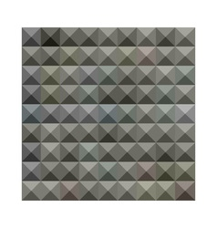 Argent Grey Abstract Low Polygon Background vector image