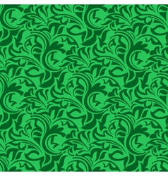 Green seamless wallpaper vector