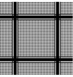 Check keffiyeh seamless pattern vector