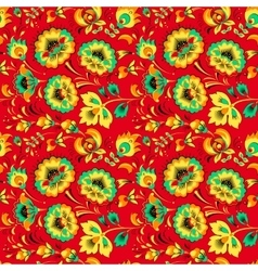 Floral seamless pattern in country style vector