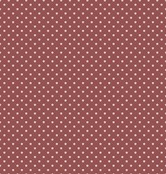 Marsala Polka Dot Seamless Pattern Background vector image vector image