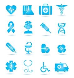 Medicine icons vecior2 vector image vector image