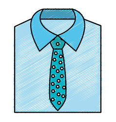 men stylish outfit icon vector image vector image