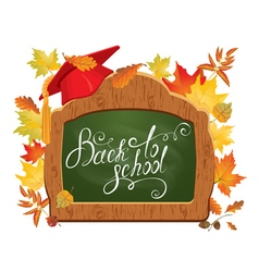 back to school board 2 380 vector image vector image