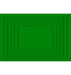 Green concentric 5 rectangle background vector