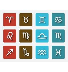 Astrological signs set vector